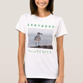 """Día de la Tierra """"reserva nuestro planeta """" Playera"""