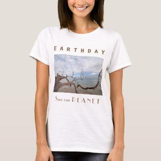 """Día de la Tierra """"reserva nuestros océanos """" Playera"""