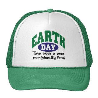 Día de la Tierra respetuoso del medio ambiente Gorro