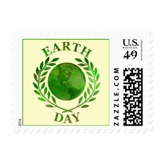 Día de la Tierra Sello