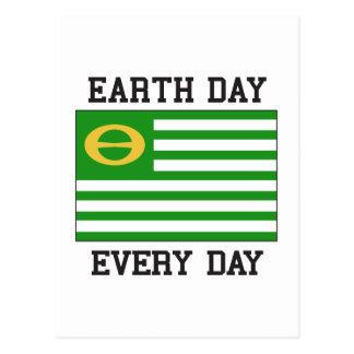 Día de la Tierra Tarjetas Postales