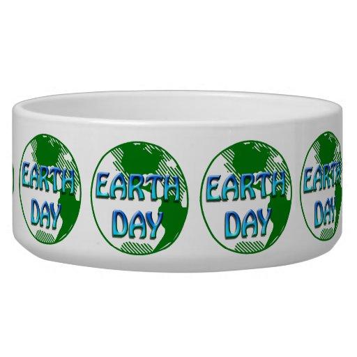 Día de la Tierra - Tazón Para Perro