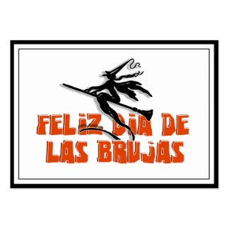 Dia de Las Brujas Business Cards