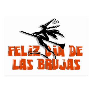 Dia de Las Brujas Business Card Templates