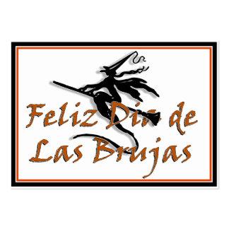 Dia de Las Brujas Business Card
