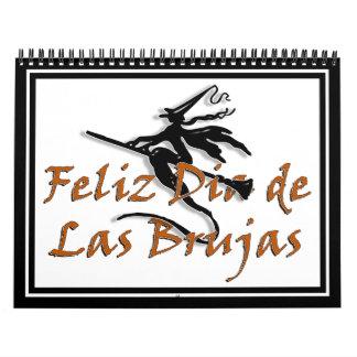Dia de Las Brujas Calendar