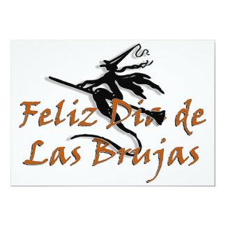 Dia de Las Brujas 5x7 Paper Invitation Card