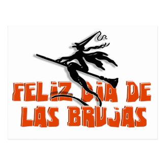 Dia de Las Brujas Postcard