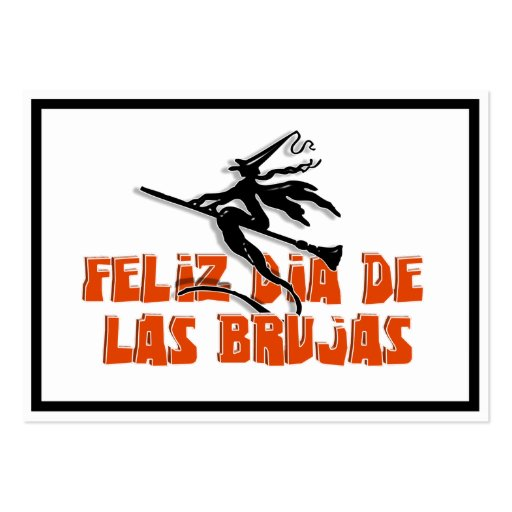 Dia de Las Brujas Tarjeta De Visita