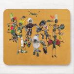 Día de las figuras muertas, de Oaxaca Mouse Pad