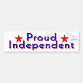 Día de las independientes pegatina para auto