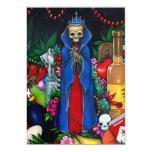 """Día de las INVITACIONES de Santa Muerte de los Invitación 5"""" X 7"""""""