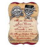 Día de las invitaciones muertas del boda invitación personalizada