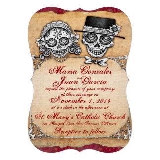 Día de las invitaciones muertas del boda