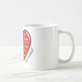 dia de las madres heart classic white coffee mug