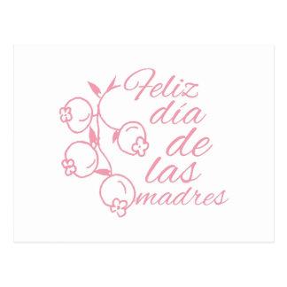Dia De Las Madres Postal