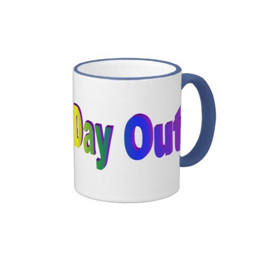 Día de las mamáes hacia fuera taza de café