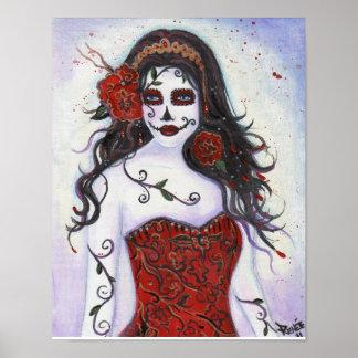 Día de Loretta del poster muerto de Renee Lavoie