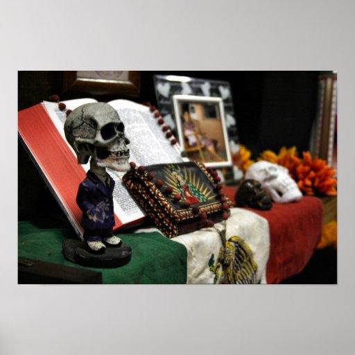 Día de los 2008 de MECA del festival muerto Póster