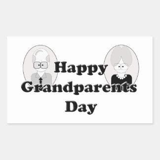 Día de los abuelos - par rectangular altavoces