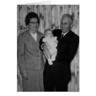 Día de los abuelos tarjeta pequeña