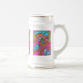 Día de los corazones quebrados y de los rasgones d taza de café