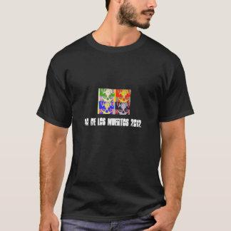 dia de los muertos 2012 t-shirt