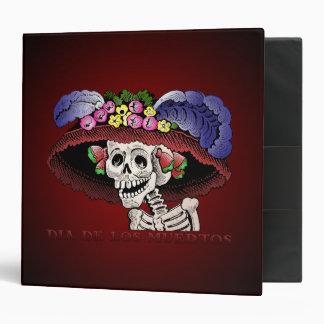 Dia de los Muertos [2 inch Binder] Vinyl Binder
