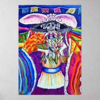 Día de Los Muertos 2 of 3 Poster