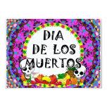 Dia De Los Muertos 5x7 Paper Invitation Card