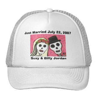 Día de los muertos - apenas casquillo casado gorra