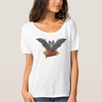 'Dia de Los Muertos' Bat T-shirt