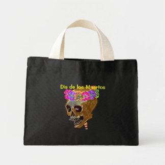 Día de los muertos bolsas de mano