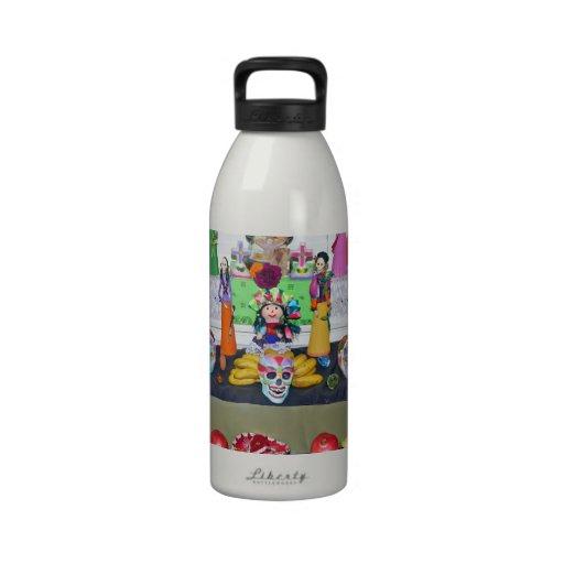 Dia de los Muertos Botellas De Beber