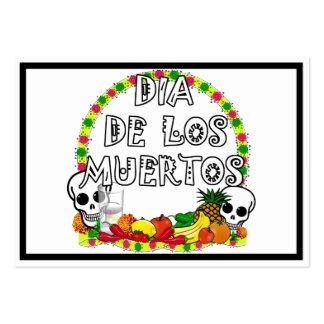 Dia De Los Muertos Business Card