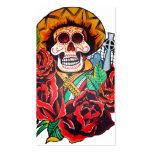 dia de los muertos business cards