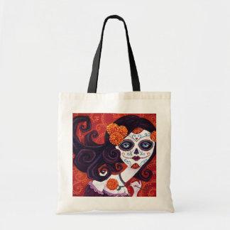 Día de los Muertos Canvas Bag