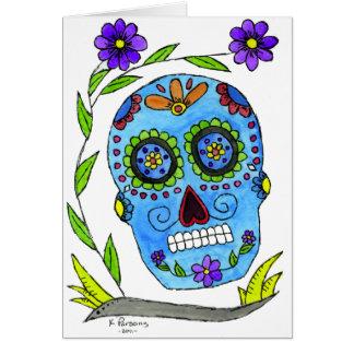 Día de los Muertos Greeting Card