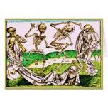 Dia De Los Muertos Card-Danse Macabre by Wolgemut