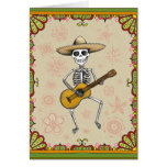Dia de los Muertos Cards Tarjeta De Felicitación