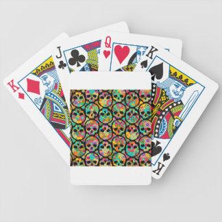dia de los muertos baraja cartas de poker