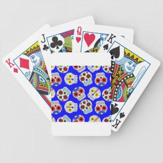 dia de los muertos barajas de cartas