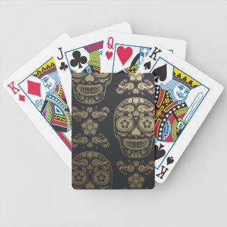 dia de los muertos baraja de cartas