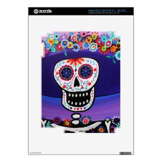 Dia de los Muertos Catrina by Prisarts iPad 3 Skin