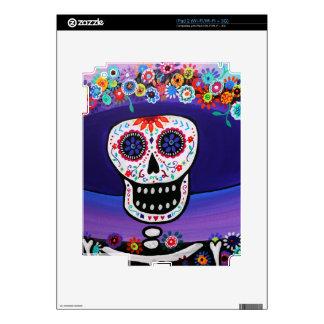 Dia de los Muertos Catrina by Prisarts Skin For iPad 2