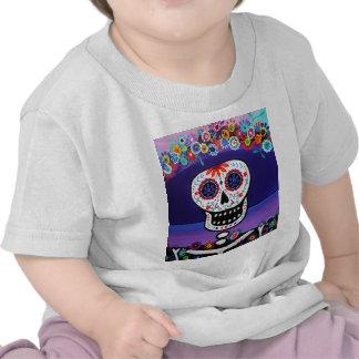 Dia de los Muertos Catrina por Prisarts Camisetas