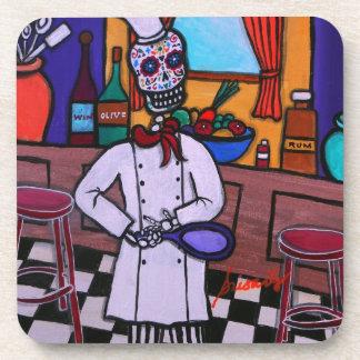 Dia de los Muertos Chef Coaster