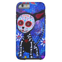 DIA DE LOS MUERTOS CHIHUAHUA TOUGH iPhone 6 CASE