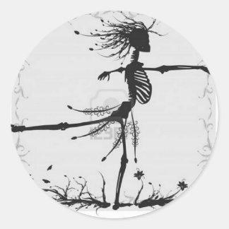 Día de los Muertos Classic Round Sticker