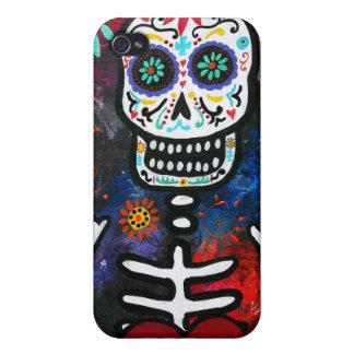 Dia de los Muertos Corazon iPhone 4/4S Cases